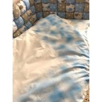 Beebi voodipesu sinine pilveke